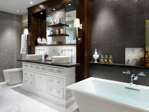 Bathroom renovation luvurious decor houston-min