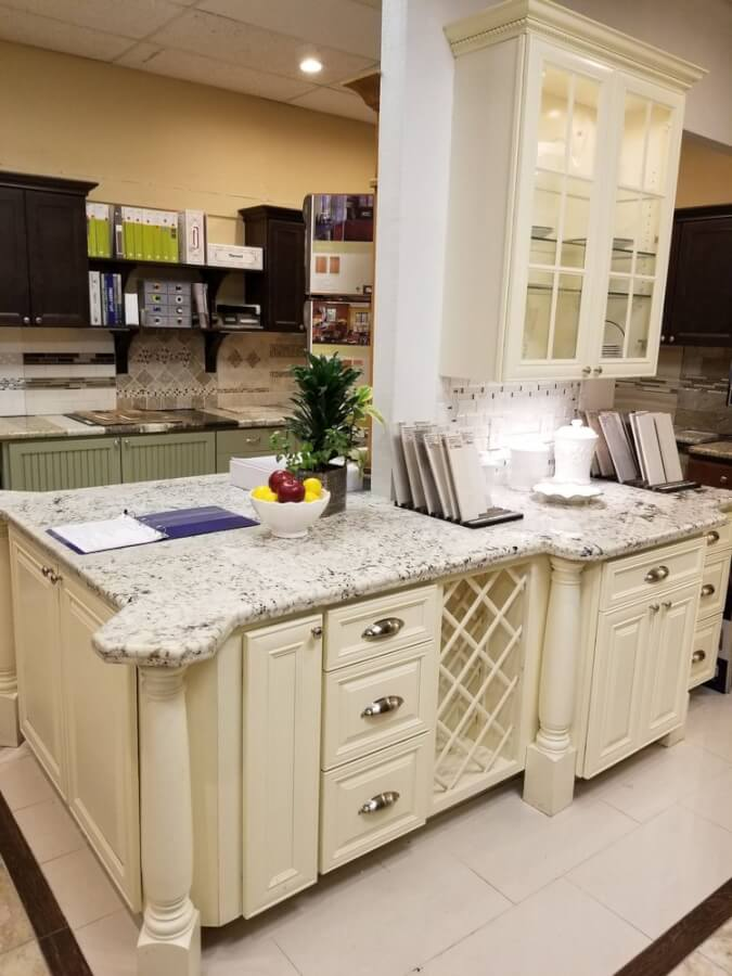 PLM remodel & Restoration office withcounter tops