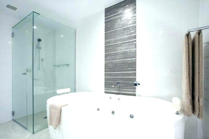 Fit bathroom remodelling with frameless glass shower